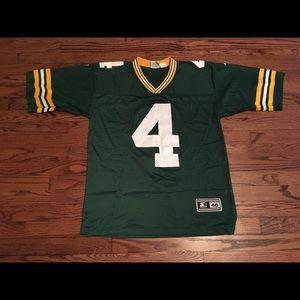 Vintage Starter 90s Packers Brett Favre Jersey 46